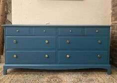 Vintage Stag Large Chest Of Drawers Sideboard   | eBay