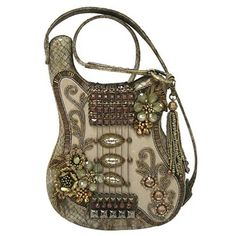 Mary Frances Off the Charts Handbag Mary Frances, HANDBAGS if you wish to buy just CLICK on AMAZON right HERE http://www.amazon.com/dp/B00EZWU2DY/ref=cm_sw_r_pi_dp_B.jZsb04FVCXBBQN