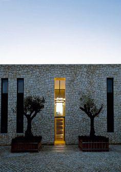 Modern Villa by Designer Piet Boon Contemporary Architecture, Interior Architecture, Architecture Details, Residential Architecture, Futuristic Architecture, Exterior Design, Interior And Exterior, Stone Houses, Villa