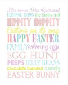 Free Easter Subway Art Printable #247moms