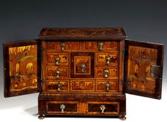 Fabulous Condition To Have A Unique National Style Antique Furniture Honest Antique Mahogany Miniature Cabinet Jewellery Box
