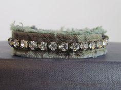 Bracelet  Diamonds and Army Camo  Army Wives by daringmisslassiter, $16.00