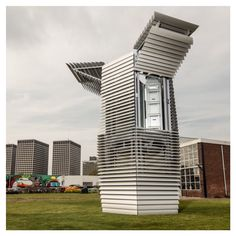 "Designer Dan Roosegaarde has created a Smog-Free #tower that filters out the #Smog in the surrounding air and turns it into #Gemstones to create healthier #cities ! . وقد صمم ""دان روزغارد"" برج الذي يرشح الضباب الدخاني في الهواء المحيط وتحويله إلى الأحجار الكريمة لخلق مدن أكثر صحة . Follow us on Facebook Team Sapienza Solar Decathlon Twitter  Sapienza SDME #ReStart4Smart #TeamSapienzaSDME #SMDE2018 #SolarDecathlon #SolarPower"