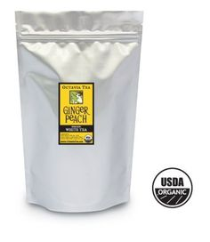 Octavia GINGER PEACH organic white tea (bulk) by Octavia -- Awesome products selected by Anna Churchill