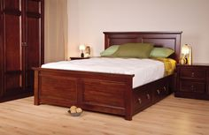 Wagner Wooden Bed By Sweetdreams