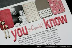 A Project by jessfo from our Scrapbooking Gallery originally submitted 04/22/13 at 08:14 PM
