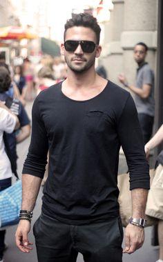 Black Shirt & Pants