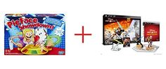 Pie Face Showdown Game and Disney Infinity 30 Edition Starter Pack for Sony PS3  Bundle
