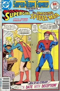 Super-Team Family: The Lost Issues!: Supergirl and Spider-Man