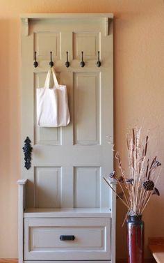 garderobenständer DIY selber bauen recyceln Kleiderständer selber bauen