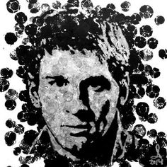 """Saatchi Art Artist Andrzej Lenard; Painting, """"Lionel Messi - portrait painted with football. lionel messi portrait art acrylic See the video here: https://www.youtube.com/watch?v=MqP001Fr47M"""