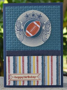 Great Sport Football Style  Stampin' Up!  Christie's Creative Corner