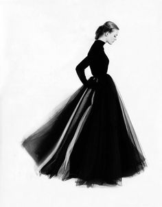 1951 photo by Norman Parkinson