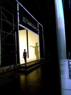 Twitter / charlesandersen: #Dans2go backstage shots Caroline Baldwin and Stephanie C shadow.