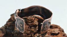 Copper Cuff, Arm Cuff, Rustic Copper Bracelet, Rustic Cuff Bangle, Copper Jewelry, Handcrafted Jewelry, Unisex Jewelry, Copper Bangle, by CreationsBydeNice on Etsy