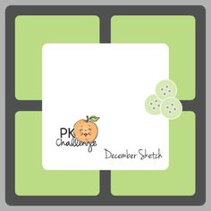 Peachy Keen Stamps Challenge: PKS Challenge 47 :: Happy Birthday Kathy Sketch