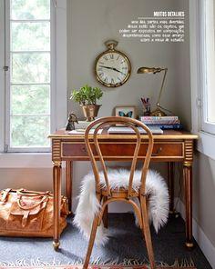 O charme étnico. Veja mais: http://www.casadevalentina.com.br/blog/materia/tnico-na-dose-certa.html  #decoracao #charme #escritorio #office #decor #interior #design #charm #casadevalentina