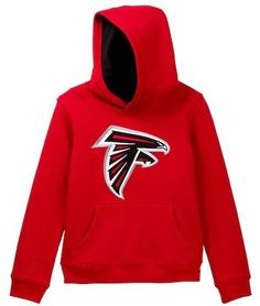 NFL Logos Atlanta Falcons Pullover Sweater (Big Boys)