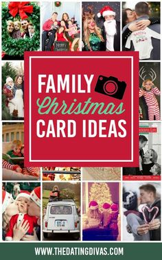 From family Christmas photoshoot ideas to Christmas card templates, they've thought of everything. Get ready for picture inspiration-overload! Just wait until you see all of the unique, funny, clever, romantic, creative, and just down-right-CUTE family Christmas picture ideas that we've found! #familychristmascard #christmaspictures
