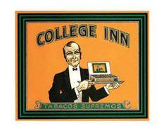 College Inn Cigar Box Label Art Print Click Add to Cart to Order