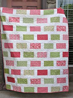 Watermelon Candy Quilt The Fleming's Nine