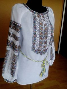 Вишиванка Folk Costume, Costumes, Knit Crochet, Embroidery, Knitting, Sewing, Blouse, Long Sleeve, Crocheting