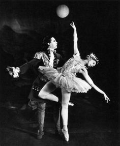 Robert Helpmann and Margot Fonteyn in Sleeping Beauty, 1946