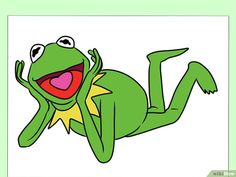 Draw Kermit The Frog How To Draw Kermit The Frog Frog