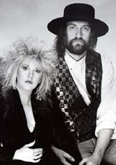 Stevie Nicks & Mick Fleetwood promo shot from Tango In The Night promostion (Source: Fleetwood Mac official website from 2003)