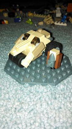 Lego custom micro tumbler and Lego micro custom bane! Lego Dc, Bane, Tumbler, Usb Flash Drive, Drinkware, Tumblers, Mug, Mugs, Usb Drive