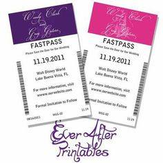 Printables! Would be a fun way to give people their table number