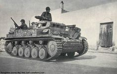 Panzer-II Ausf. F used by the US-Army.