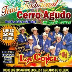 GRUPO MUSICAL LA CONCENTRACION: Lunes 24 de Octubre La Concentración en Cerro Agud...