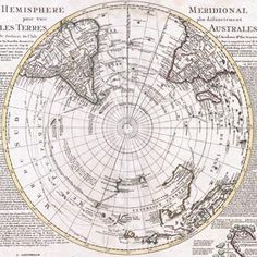 Map of the Southern Hemisphere (South Pole, Antarctic), Covens and Mortier. Find this and other books and manuscripts at CuratorsEye.com.