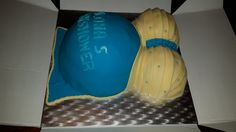 Zwangere buik taart.
