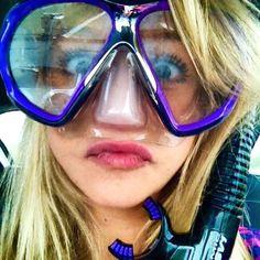Snorkel Mask, Scuba Girl, Snorkelling, Beachwear, Swimwear, Outfit Of The Day, Girls, Casual, Jade
