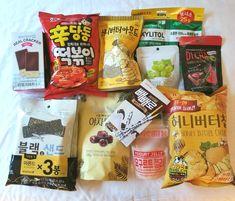 9 Korean Supermarket Snacks You Need to Try South Korean Food, Korean Street Food, Japanese Treats, Japanese Food, Cute Food, Yummy Food, Healthy Food, Korean Grocery, K Food