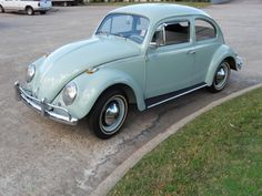 My mom's 1964 Beetle would have been my first car if it hadn't thrown a rod a few months shy of my 16th birthday.
