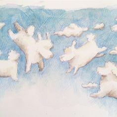 Cumulus, nimbus and dogus... ☁️