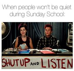 Haha I'm the one who needs to shut up and listen!