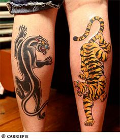 Crawling panther tattoo  for Michael>panther