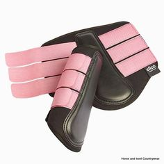 Elico Langley Neoprene Brushing Boots Neoprene horse boots with a durable padded contoured strike pad with recessed stitching and double hook and