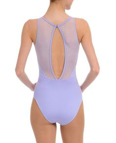 Shop Danskin.com for Women's NYCB Collection High Neck Mesh-Mix Leotard and see the entire selection of Womens Dance LEOTARDS.