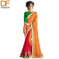 Be a stunner with this breathtakingly gorgeous #saree by Triveni. Explore the best of Indian outfits, now.