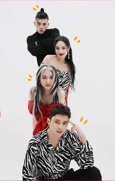 Kpop Aesthetic, Aesthetic Girl, Fandom, Kpop Girl Groups, Kpop Girls, Kard Bm, Summer Hair Color For Brunettes, Dancehall, Hip Hop