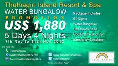 Thulhagiri Island Resort & Spa Maldives  North Male' Atoll, North Male Atoll, Maldives