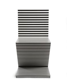 Neo Laminati Chair no 34 or Z or zig zag front view