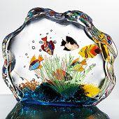 http://atlantis.homepagepays.com  Murano Glass Aquarium