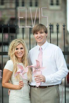Pinwheel Wedding i DO Photo Prop by LeahRHood on Etsy, $20.00