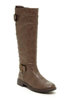 Carrini Lace-Up Back Riding Boot by Non Specific on @HauteLook only $30 bucks